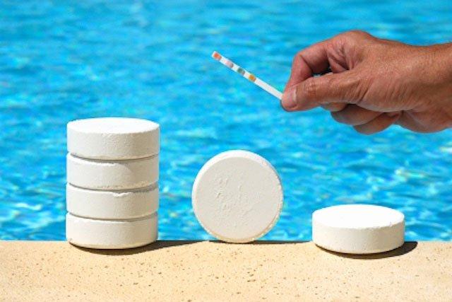 , Что используют для хлорной дезинфекции воды в бассейне