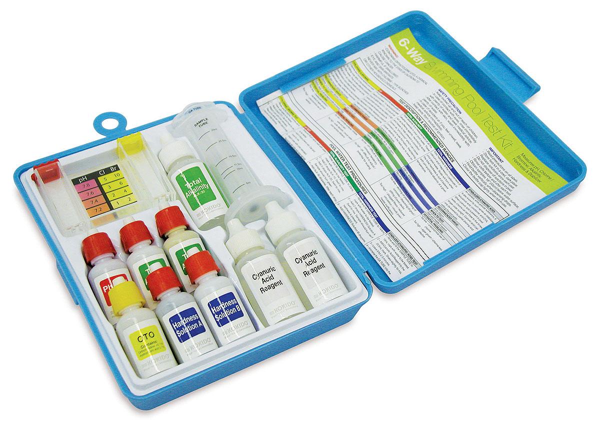 Тестеры для определения содержания хлора или рН