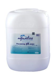, Регулировка pH (пэ аш) воды в бассейне