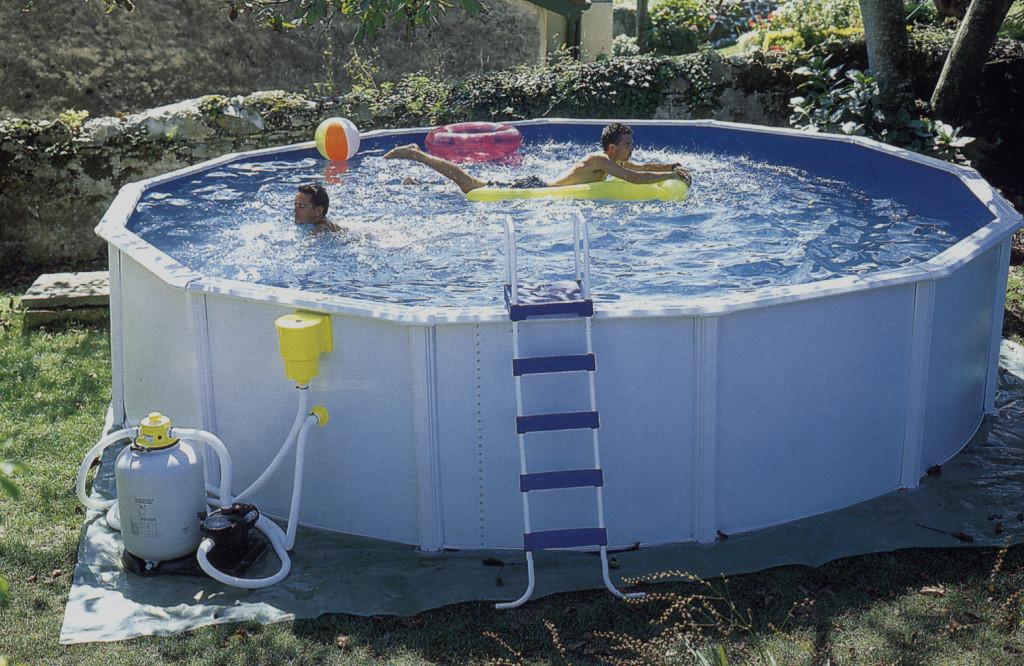 смотреть как устанавливают бассейн видео - 1