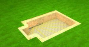 Этапы строительства бассейна из полипропилена. Часть 2-я