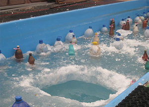 , Компенсаторы давления льда для консервации бассейнов