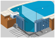Различные конструкции бассейнов