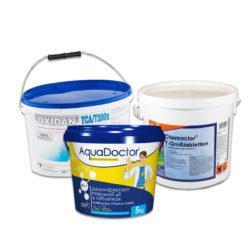 препараты для хлорирования воды бассейна