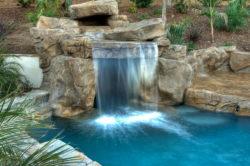 , Декоративный водопад или каскад, подбор насоса