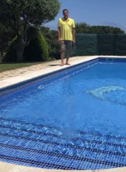 Совместная обработка бассейна перекисью и хлором, последовательность действий