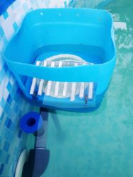 , Комплексная (хлор, перекись и биоцид) дезинфекция в каркасном бассейне Bestway