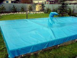 , Подготовка воды бассейна к зимовке